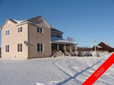 Powasson Single Family for sale:  4 bedroom  Home on 70 Acres